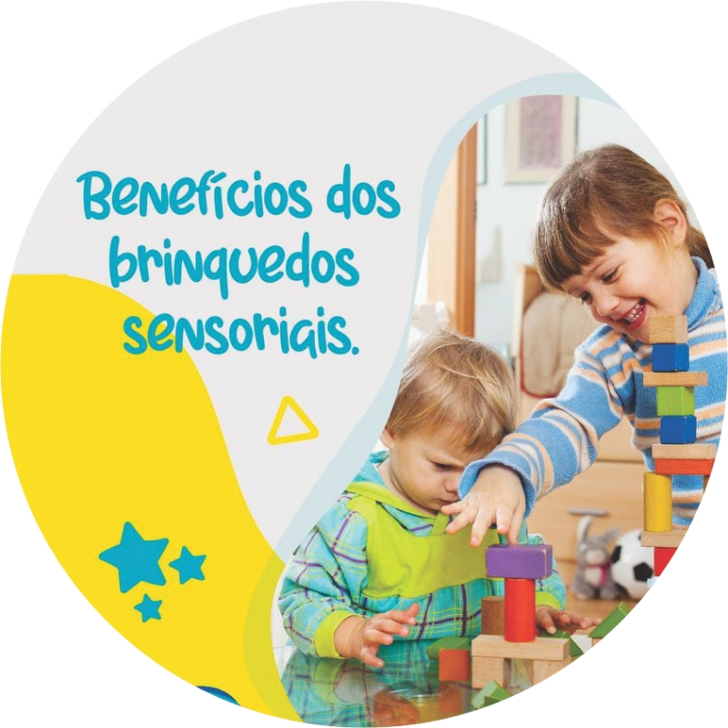 Benefícios dos brinquedos sensoriais!