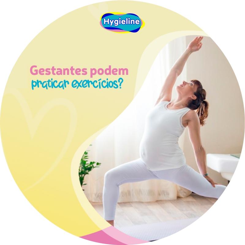 Gestante pode fazer exercício?
